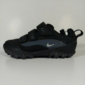 Nike ACG women's Cycling bike Shoes size 8 Black Kato 3 straps Eur 39 UK 5.5