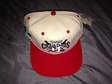 Vintage Hickory Crawdads snapback minor league baseball hat NWT #1 Apparel