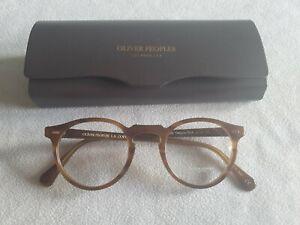 Oliver Peoples glasses frames. OV 5186 1011 Gregory Peck. New with case.