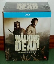 THE WALKING DEAD 1-6 TEMPORADAS COMPLETAS (26 BLU-RAY) NUEVO NEW (SIN ABRIR) R2
