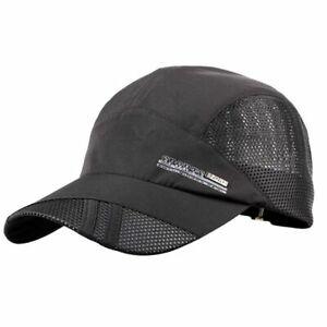 Womens MensSport Baseball Mesh Hat Running Visor Breathable Cap Summer Outdoor
