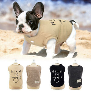 Dog Clothes Coat Winter Cat Clothing Jacket For Small Large Dogs French Bulldog