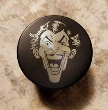 "Joker themed 2"" 4 piece herb grinder - black"