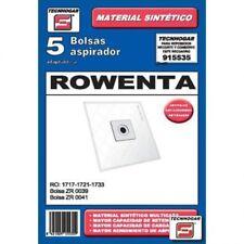 Bolsa para aspiradora recambio Technogar 915535 Aspiradora Rowenta 5253