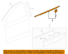 HONDA OEM CR-V-Door Window Sweep-Belt Molding Weatherstrip Right 72410TLAA01