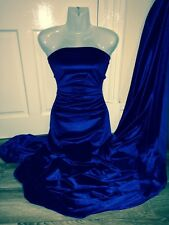 "1 MTR ROYAL BLUE VELOUR/VELVET FABRIC..58"" WIDE £4.50 SPECIALL OFFER"