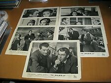 ORIGINAL UK LOBBY CARDS SET OF 7 NO HIGHWAY 1951 JAMES STEWART MARLENE DIETRICH