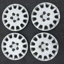 "Set 4 16"" 02-04 Honda Odyssey Silver Wheel Covers Hub Caps 744733-S0XX-A100"