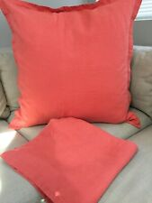 crate and barrel pillow cover/shams