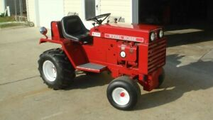 1977 Wheel Horse D200 Completely Restored w/Attachments