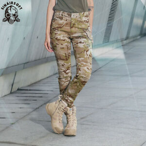 Tactical Women Airsoft Army Outdoor Military Urban Combat Pants Forces Trousers
