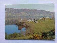 Loch Ness Vintage colour Postcard 1978 Urquhart Castle