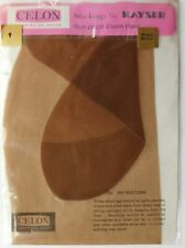 Ladies classic lingerie vintage stockings Bengal Bronze Kayser nylons size 9 RHT