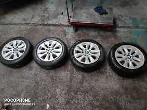 """16"""" BMW 1 SERIES ALLOY WHEELS WITH TYRES 195/55/R16"""