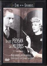 LO QUE PIENSAN LAS MUJERES de Lubitsch. España tarifa plana envíos DVD 5 €