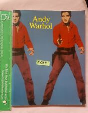 Andy Warhol PopArt Gay Pictures Commerce in Art Elvis Presley Softcover 1991