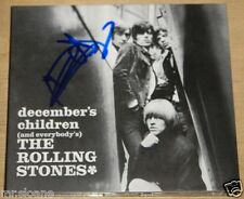 ROLLING STONES DECEMBER CHILDREN KEITH RICHARDS SIGNED CD UACC REGISTERED DEALER