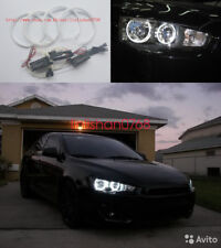 4x Excellent CCFL Angel Eyes kit Halo Rings For Mitsubishi Lancer X 10 2007-2017