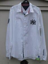 Mens White TOMMY HILFIGER Vintage Fit Shirt Size XL