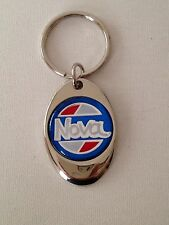 Chevrolet Nova Keychain Chrome key chain Chevy