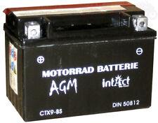 BATTERIA intact Bike Power Batteria CTX MANUTENZIONE 9-bs con acido Pack Battery KYMC