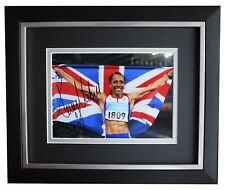 Kelly Holmes Signed 10x8 Framed Photo Autograph Display Olympic Athletics Coa