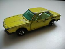 Majorette BMW 3.0 CSI N° 235 Made in France 1/60 jaune voiture car miniature