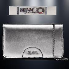 MIMCO CLASSICO CHAIN WALLET HIP BAG GUNMETAL LEATHER +Dbag rrp$249