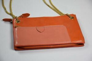 Women's Marc Jacobs Mixed Chain Leather Crossbody Purse Bag DBIN6