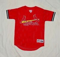YOUTH'S VINTAGE MLB ST. LOUIS CARDINALS # 25 MARK McGWIRE MAJESTIC JERSEY MEDIUM