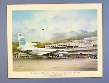 More details for pan am vintage first class airline menu lockheed l1011-500 tristar clipper paa