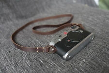 Handmade Genunie Real Leather camera strap neck strap for vintage camera 01-148