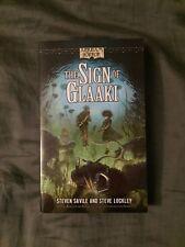 The Sign of Glaaki : An Arkham Horror Novel by Steven Savile and Steven Lockley