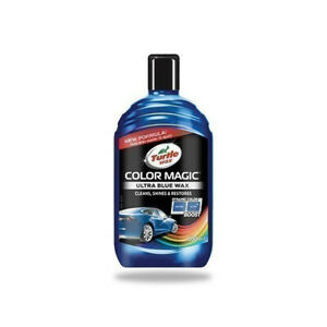 Turtle Wax Color Magic Ultra Blue 500ml Complete with Free Delivery