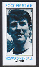 Soccer Star Cards - Soccer Star 2010 # 8 Howard Kendall - Everton