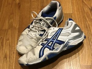 Men's Size 10 ASICS Tennis / Pickleball Shoes Non Marking Sloes