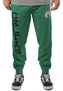 Brand New Boston Celtics Men's Jogger Pants Green Sweatpants NBA