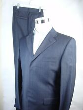 Gianni Versace Couture 100% Wool Suit 50R / US 40 Navy Pants 32 x30