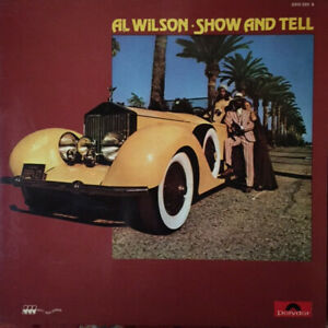Al Wilson – Show And Tell- LP  germany