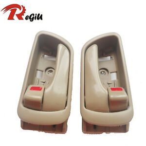 Fit Toyota Camry Inside Front Rear Left Right Side Smooth Door Handle 2002-2006