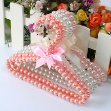 Pet Clothes Hangers Pearl Beads Clothes Rack for Baby Pet Dog Cat
