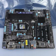 ASRock B75 PRO3-M Motherboard Intel B75 LGA 1155 DVI HDMI USB3.1 SATA3 6.0 Gb/s