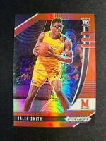 H27 2020 Panini Prizm Draft Picks Jalen Smith Red Prizm RC /299 Maryland Rookie
