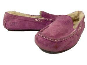 UGG Australia Women's Slippers Purple.Sheepskin Lining Size 8 Eur 39 UK 6.5…X21