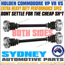 PAIR HEAVY DUTY Holden Commodore VP VR VS 5.0L V8 IRS Rear CV Drive Shaft L & R