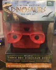 Dinosaurs Limited Edition 3 Disc DVD Bonus 3D View Finder New Gift Box Set.