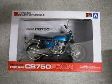 Aoshima Skynet 04316 Honda CB750FOUR K0 Candy Azul 1/12 Escala Acabado Modelo
