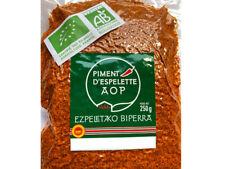 Piment d'Espelette AOP bio 250 grammes