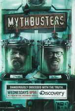 MYTHBUSTERS TV POSTER PRINT B 27x40 Jamie Hyneman Adam Savage Tory Belleci