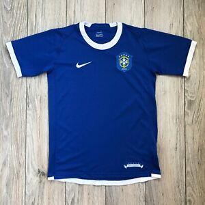 Brazil Brasil 2006-2007 Away Football Soccer Youth Shirt Jersey L boys 12-13 yrs